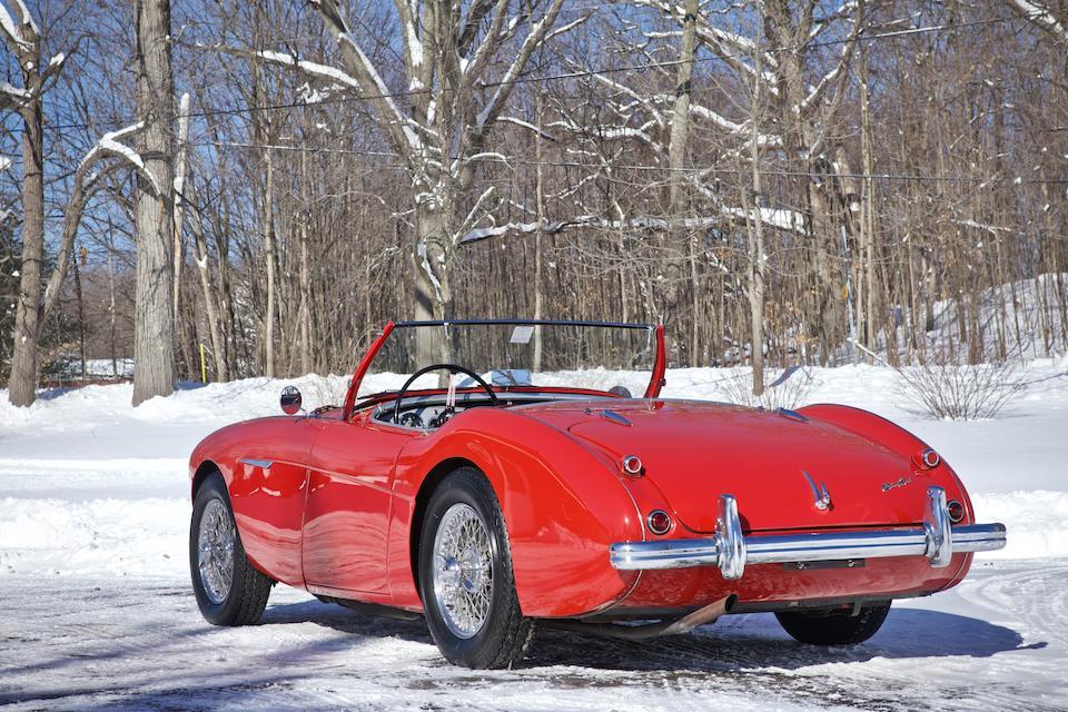 <b>1955 Austin-Healey 100/4 BN1</b><br />Chassis no. BN1L220856<br />Engine no. 1B220856M