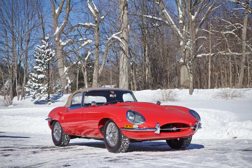 <b>1964 Jaguar E-Types Series 1 3.8 Roadster</b><br />Chassis no. 880875<br />Engine no. RA5042-9