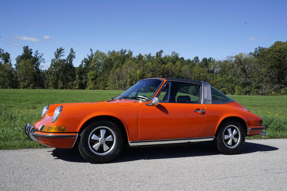 <b>1971 Porsche 911T Targa</b><br />Chassis no. 9111110088<br />Engine no. 6110094