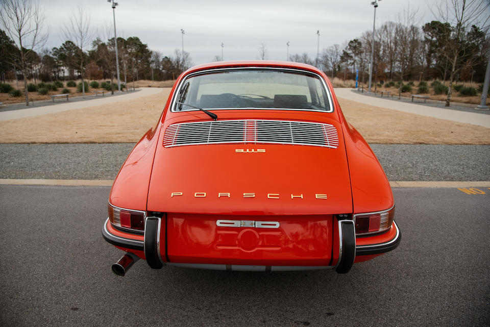 <b>1968 Porsche 911S Coupe</b><br />Chassis no. 11800240<br />Engine no. 4080264