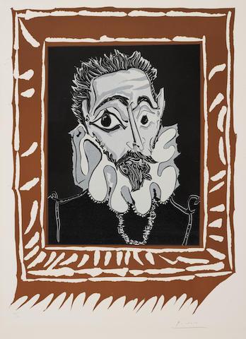 Pablo Picasso (1881-1973); L'Homme à la Fraise;