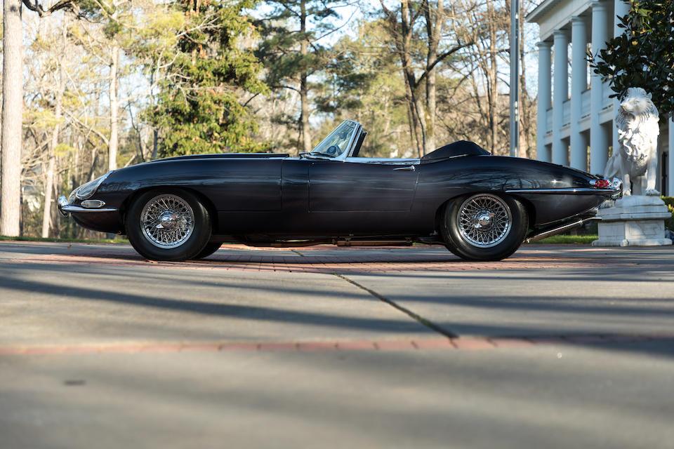 <b>1964 Jaguar E-Type Series I 3.8 Roadster</b><br />Chassis no. 880937<br />Engine no. RA5177-9