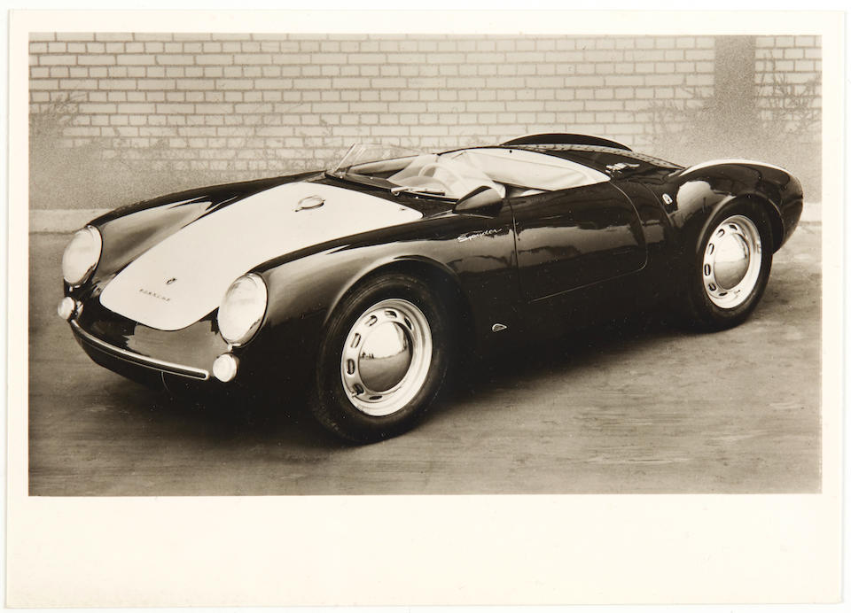 Owner's Manual for a Porsche 550/1500 RS