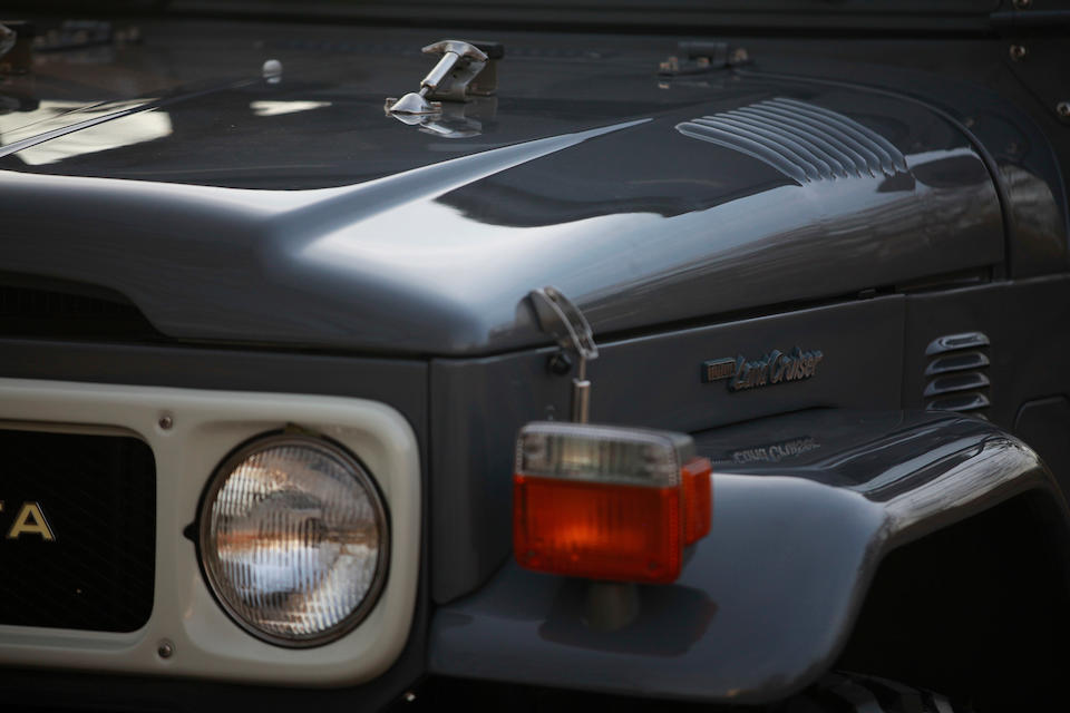 Bonhams : 1985 Toyota FJ40Chassis no  FJ40-940286