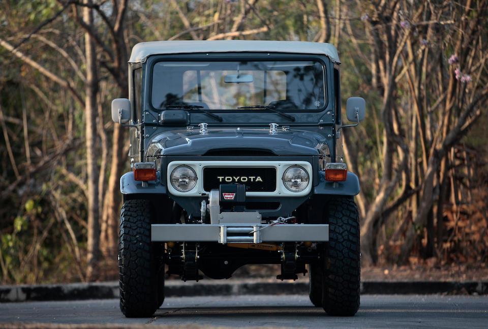 <b>1985 Toyota FJ40</b><br />Chassis no. FJ40-940286