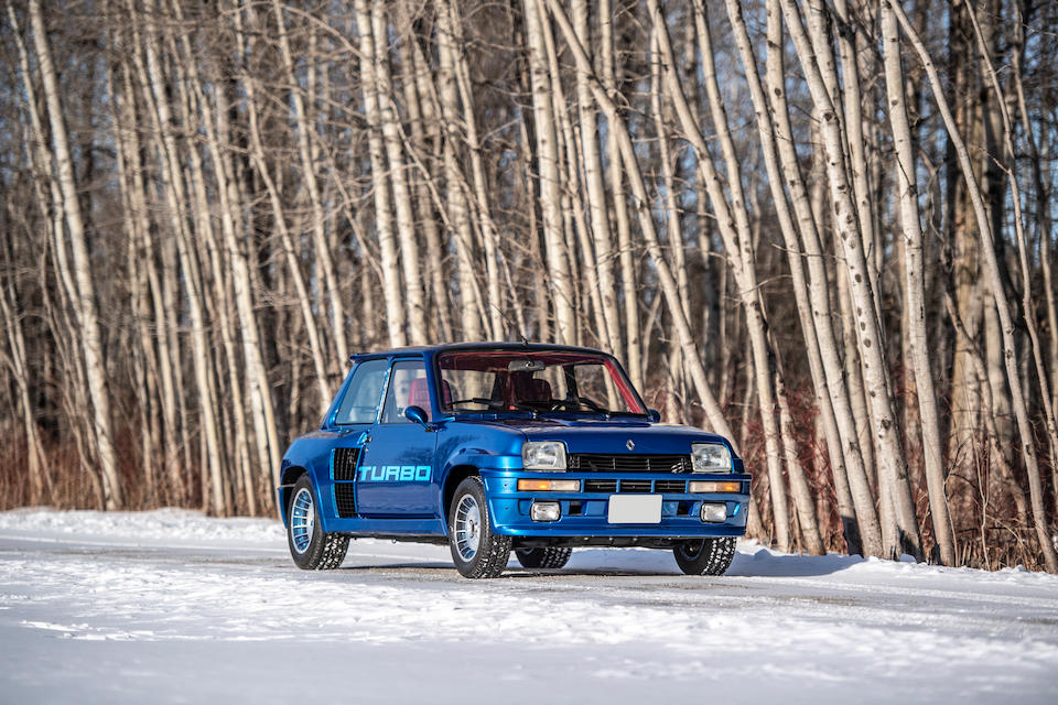 <b>1983 Renault 5 Turbo Hatchback</b><br />Chassis no. 130000636