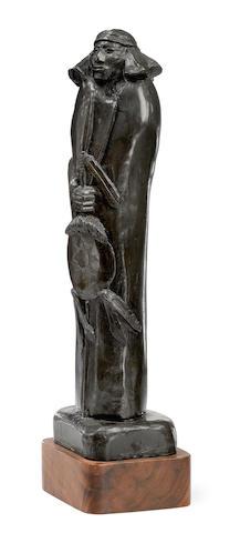 An Allan Houser bronze,