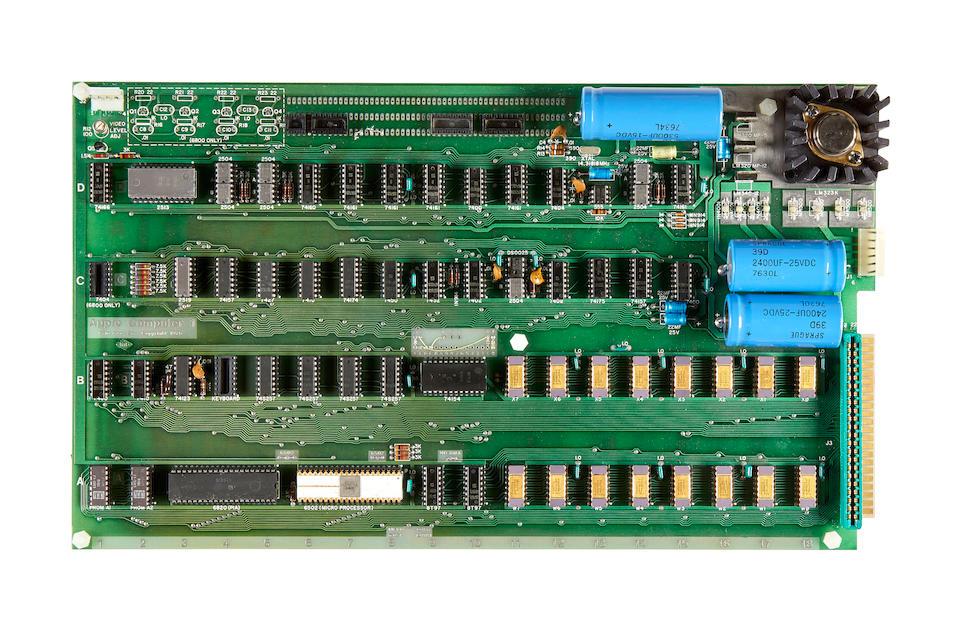 APPLE-1 MICROCOMPUTER.