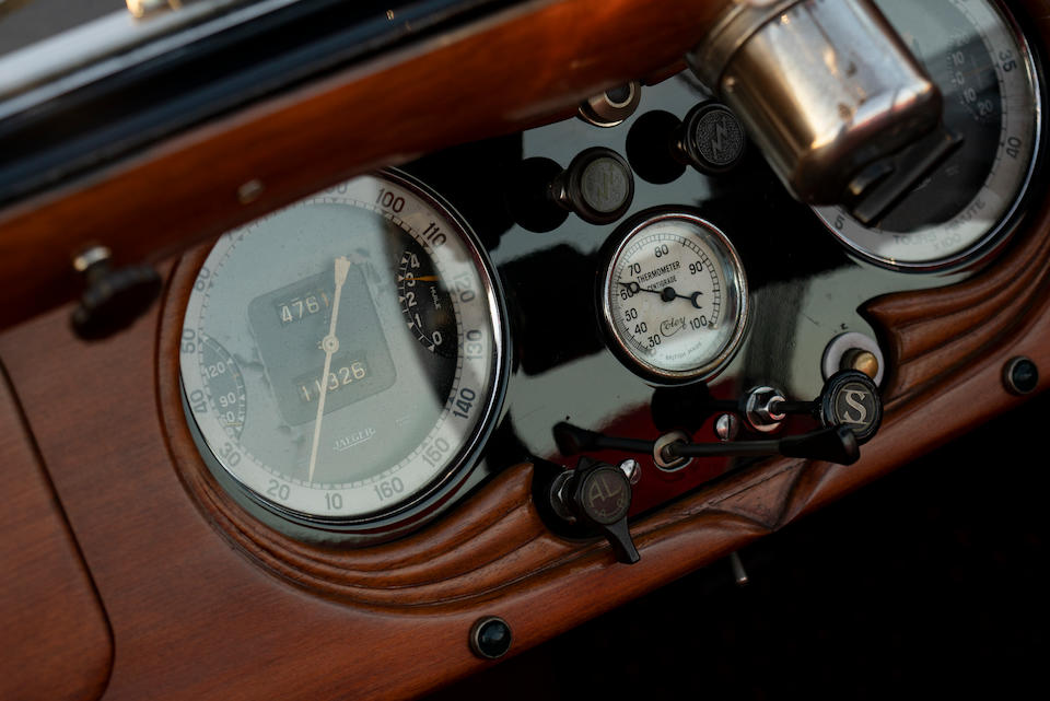 <b>1939 Delage D6-70 Three-Position Drophead Coupe</b><br />Chassis no. 51740<br />Engine no. 51740