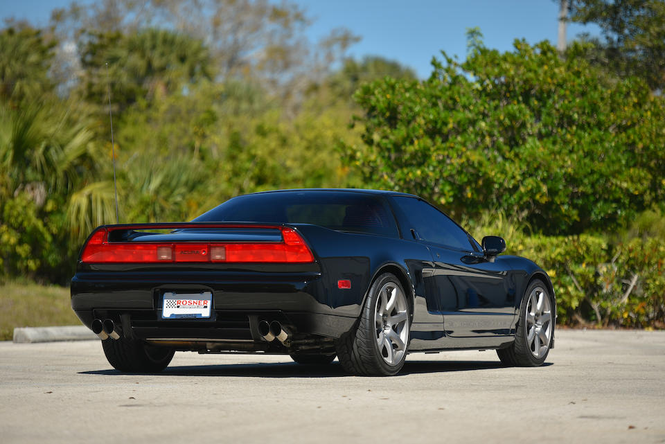 <b>1991 Acura NSX Coupe</b><br />VIN. JH4NA1154MT001707