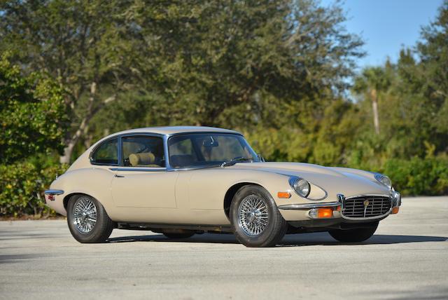 <b>1972 Jaguar E-Type Series III V12 2+2 Coupe</b><br />Chassis no. UC1S73228BW<br />Engine no. 7S6788SA