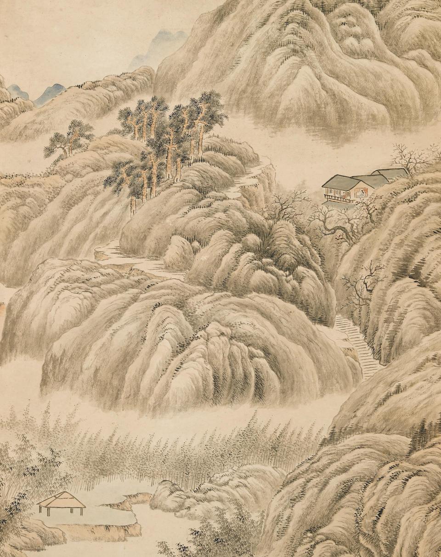 Dai Xi (1801-1860)  Landscape, 1846