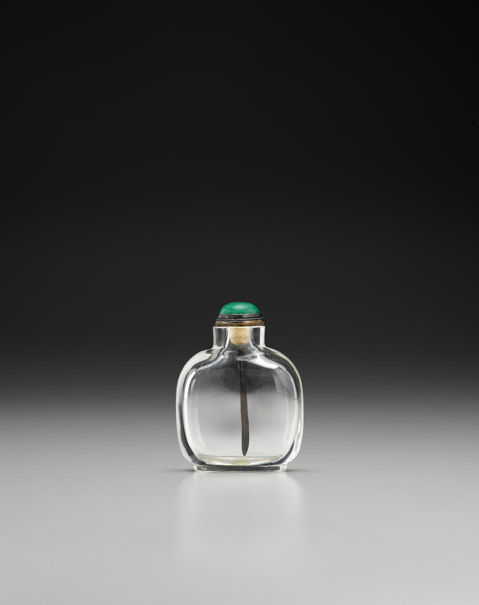 A rock crystal snuff bottle 18th/19th century