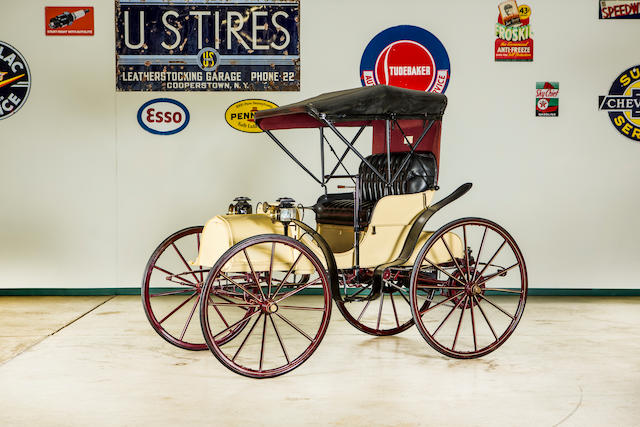 <b>1908 Columbus 10HP Two-Cylinder Autobuggy</b><br />Chassis no. 26