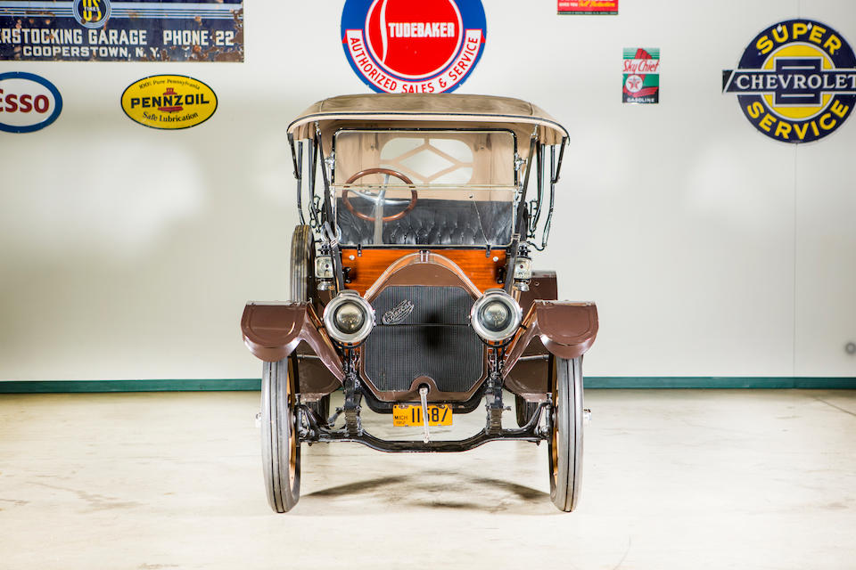 <b>1912 Cartercar Model R Tourer</b><br />Chassis no. 6481