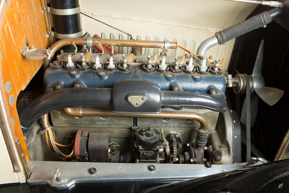 <b>c.1916 Owen Magnetic Tourer</b><br />Engine no. TN16022