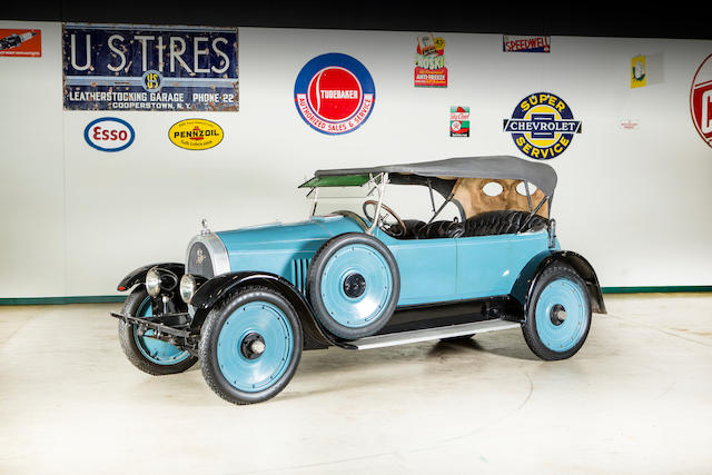 <b>1920 Apperson Model 8-20 Anniversary Eight Tourster</b><br />Engine no. 21070