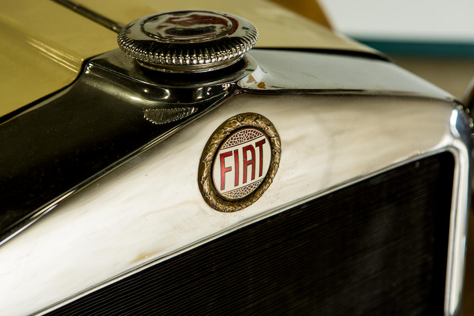 <b>1929 Fiat 525N 7-Passeneger Touring</b><br />Chassis no. 103248