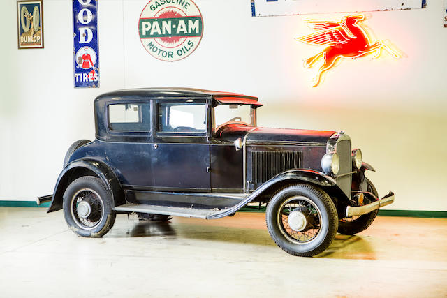 <b>1931 Detroit Electric Model 99 Four Passenger Coupe</b><br />Chassis no. 13628