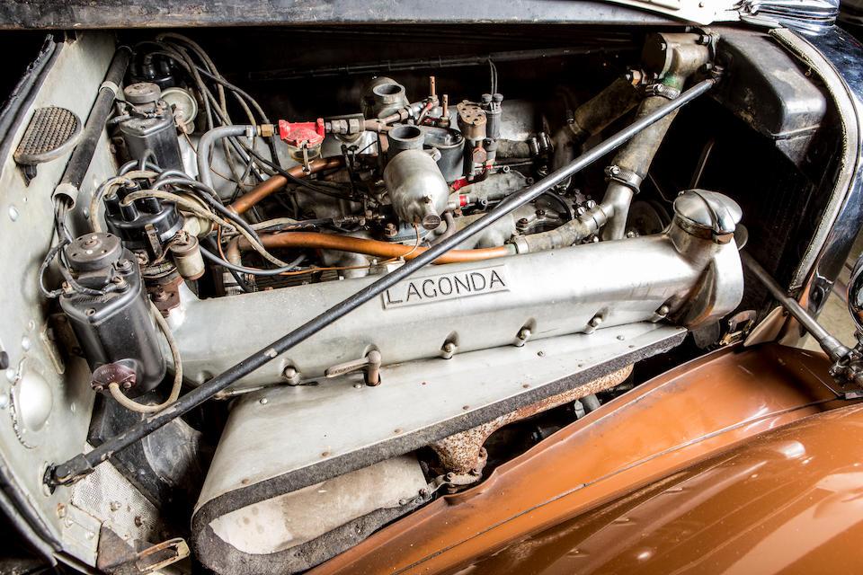<b>1938 Lagonda V12 Saloon</b><br />Chassis no. 14100<br />Engine no. 14100