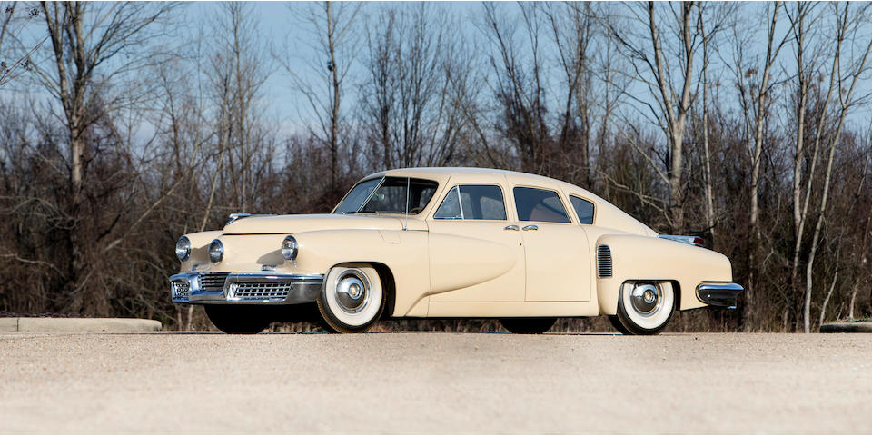 <b>1948 Tucker 48</b><br />Chassis no. 1028<br />Engine no. 335-35