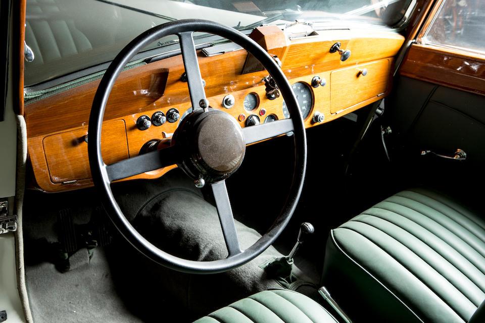 <b>1948 Jaguar Mark IV 3&#189;-liter Drophead Coup&#233;</b><br />Chassis no. 637127