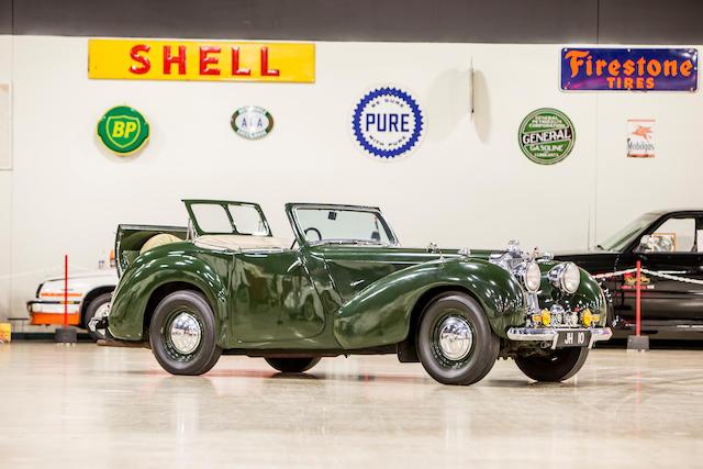 <b>1949 Triumph 2000 Roadster</b><br />Chassis no. TRA1832