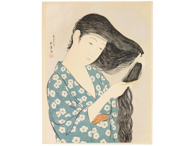 Hashiguchi Goyo (1881-1921)  Taisho era (1912-1926), 1920