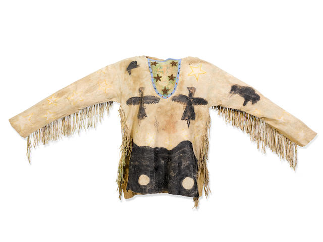 A Southern Plains Ghost Dance shirt, possibly Arapaho