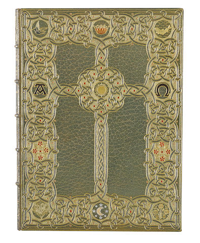 MANUSCRIPT, ILLUMINATED. ST. FRANCIS OF ASSISI. 1182-1226. The Canticle of Brother Sun. London: The Grolier Society, [1910].