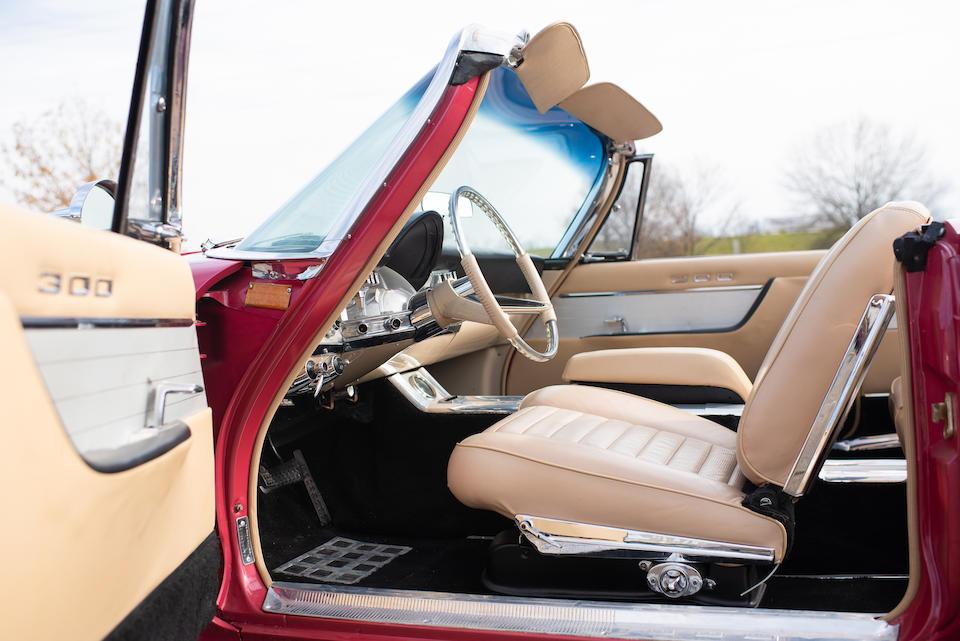 <b>1960 Chrysler 300F Convertible</b><br />Chassis no. 8403129575