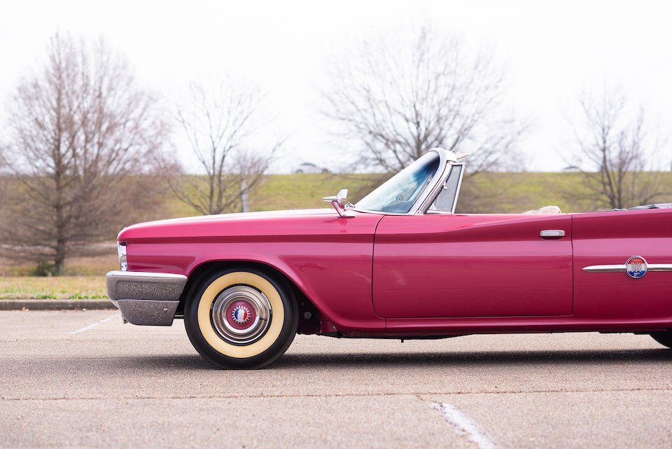 <b>1960 Chrysler 300F Convertible</b><br />Chassis no. 8403129575