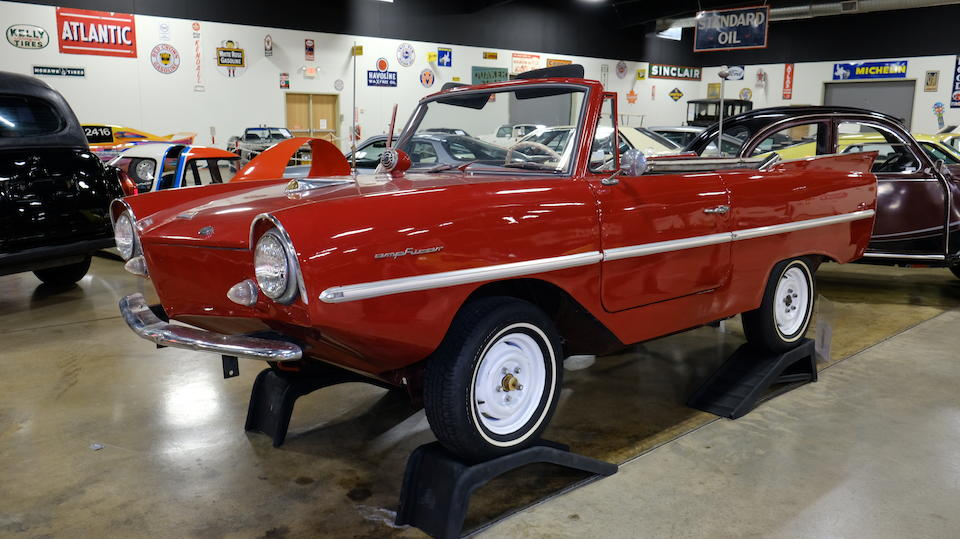 <b>1962 Amphicar Model 770 Convertible</b><br />Chassis no. 100536<br /> Engine no. K361HE