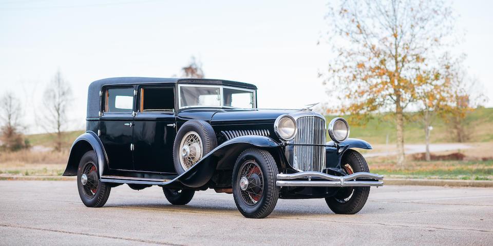 <b>1934 Duesenberg Model J Prince of Wales Berline</b><br />  Chassis no. 2575<br />Engine no. J-547