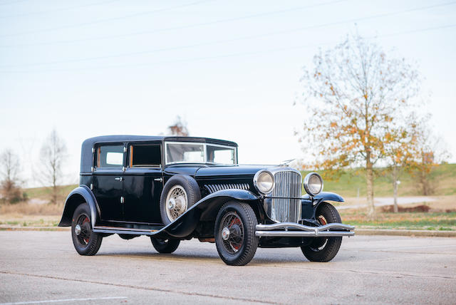 <b>1934 Duesenberg Model J Prince of Wales Berline</b><br />  Chassis no. 2575<br />Engine no. J-547″/></figure>    <p>Pre-war highlights include:</p>    <ul><li>1899    Knox    Model A 5HP Runabout – Est.   $140 – 170k, oldest Knox known to exist, highly original, totally complete and almost ready to go and do the London – Brighton, a little expensive but good luck finding another.</li><li>1914    Peerless    Model 48 Kimball Town car – Est $125 – 150k, fitted with an Ahrens Fox engine, possibly since new.  Highly original and ideal for either preservation or restoration. Unique and market correct.</li><li> 1929   Cord    L-29 Cabriolet – Est.  $100 – 150k, older restored example, remains in original form. Ideal for a refresh or re-restoration. Market at the low estimate.</li><li> 1930    Hispano-Suiza   H6B Fernandez Coupe Chauffeur  – Est. $250 – 350k. Fernandez Cabriolet de Ville coachwork fitted, beautiful car on the luxurious and very advanced Hispano H6B chassis, restored in the 1970s, Pebble Beach award winner in '81, might need a refresh but still market correct. </li><li> 1936    Lagonda LG45 Tourer – Est. $220 – 290k. 1 of 25 Tourers on the LG45 chassis,  cosmetically redone otherwise original. Outside of a Rapide, the ultimate Lagonda and quite something. Market correct.</li></ul>    <figure class=