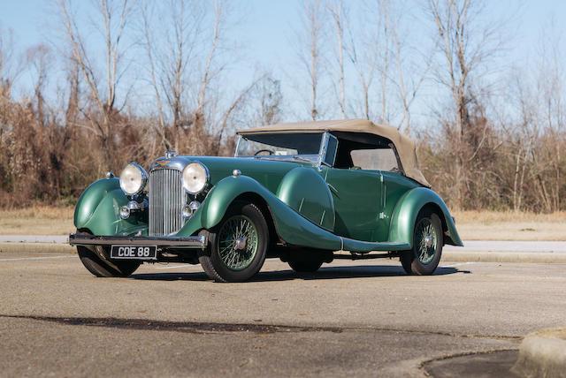 <b>1936 Lagonda LG45 Tourer</b><br />Chassis no. 12112 <br />Engine no. LG45/224/S2 - 12112
