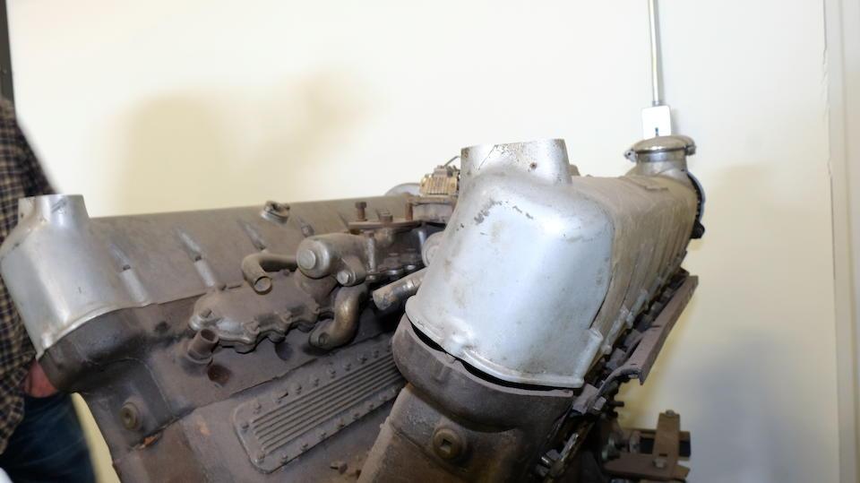<b>1939 Lagonda V12 Drophead Coupe</b><br />Chassis no. 14116<br />Engine no. 14116