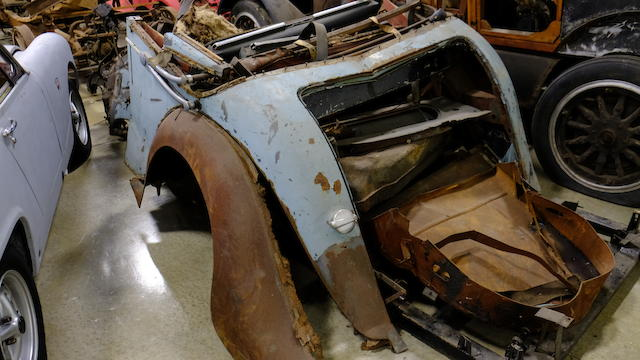 <b>1949 Jaguar Mk IV 2&#189;-Liter Drophead Coupe</b><br /> Chassis no. 637242