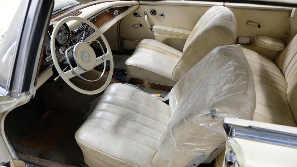 <b>1964 Mercedes-Benz 300SE Cabriolet</b><br />Chassis no. 112023-10-00087