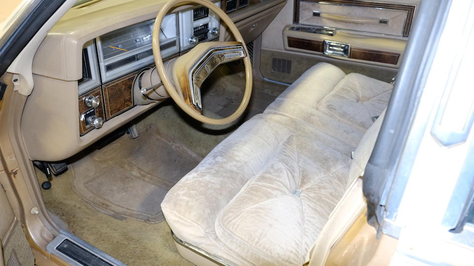 <b>1978 Lincoln Continental Town Car</b><br />Chassis no. 8Y82A827875