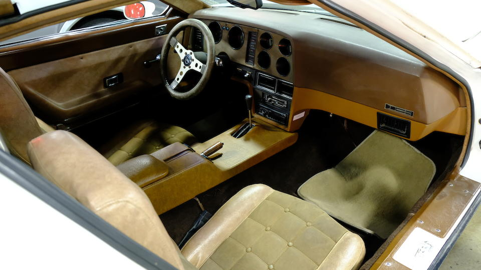 <b>1975 Bricklin SV-1 Two-Seater Gullwing Coupe</b><br />Chassis no. 00041BX5S002198