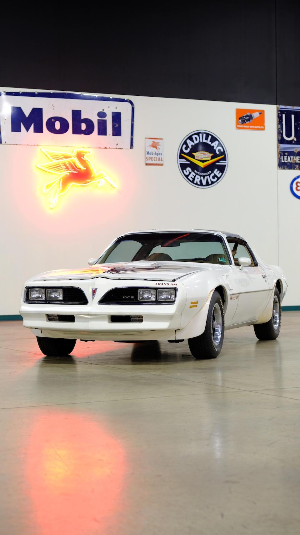 <b>1977 Pontiac Trans Am</b><br />Chassis no. 2W97Z7N182152