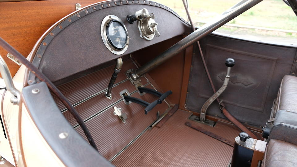<b>1913 Westcott Model 4-40 Roadster</b><br />Engine no. 1563