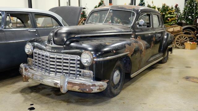 <b>1947 Dodge D24 Custom</b><br />Chassis no. 30833683