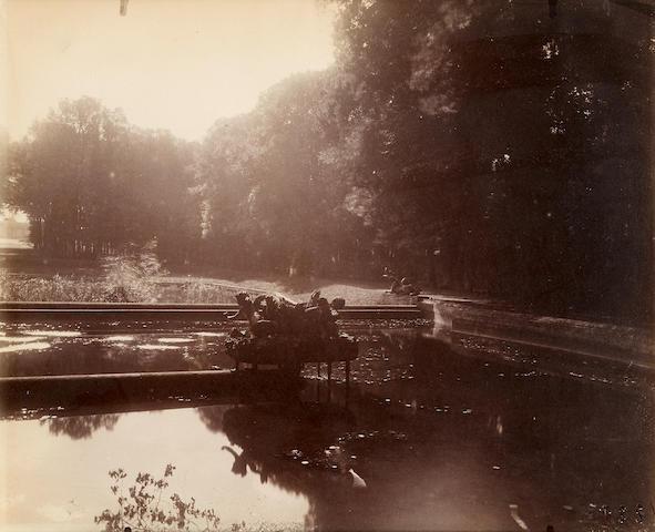 Eugène Atget (1857-1927); Trianon, Bassin du Miroir;
