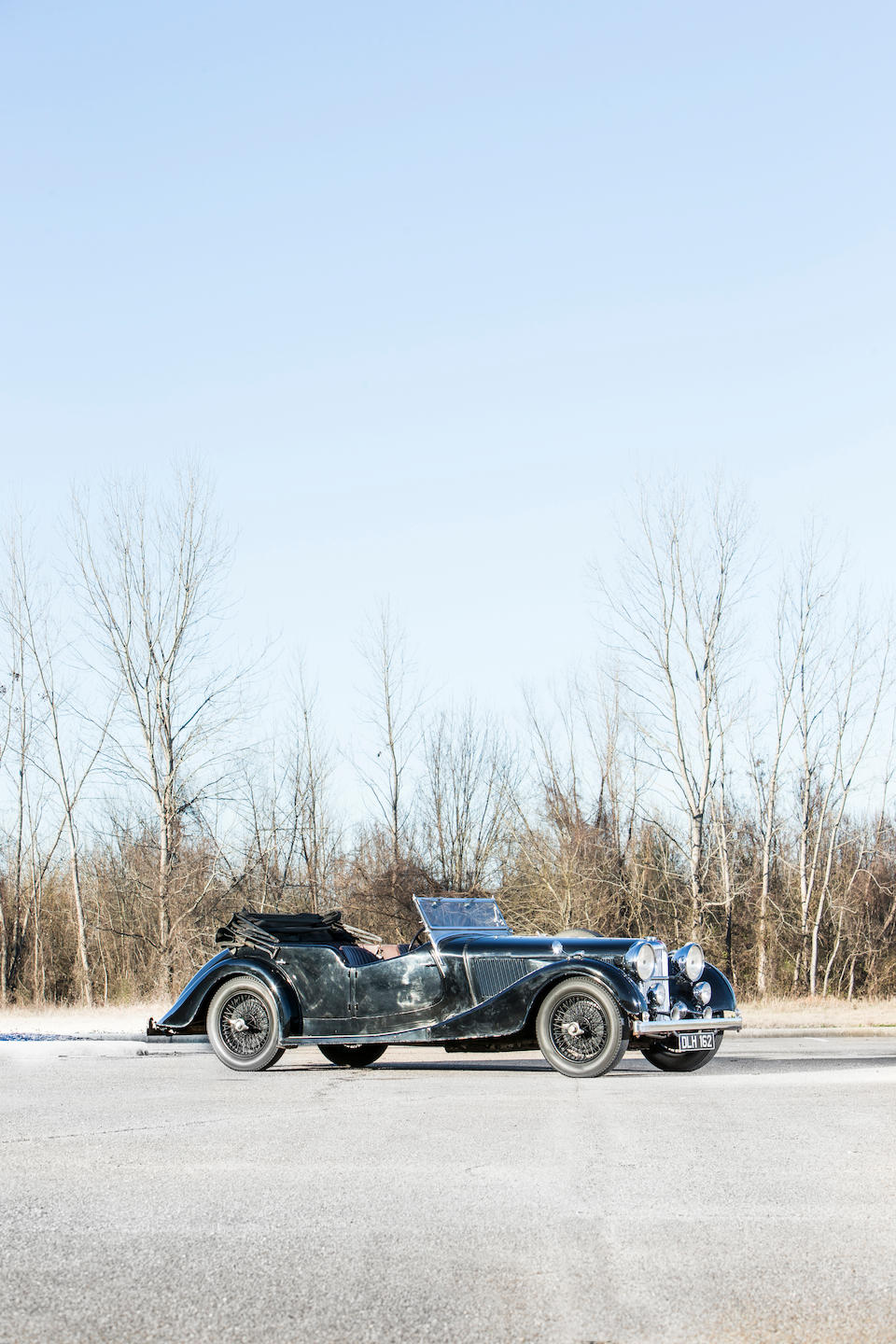 <b>1936 Alvis Speed 25 SB Four Door Tourer</b><br />Chassis no. 13341<br />Engine no. 13623