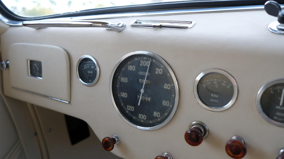 <b>1950 Talbot-Lago T26 Record Three Position Cabriolet</b><br /> Chassis no. 101058