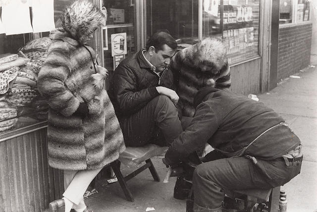 Louis Faurer (1916-2001); Selected images of Paris and New York; (68)