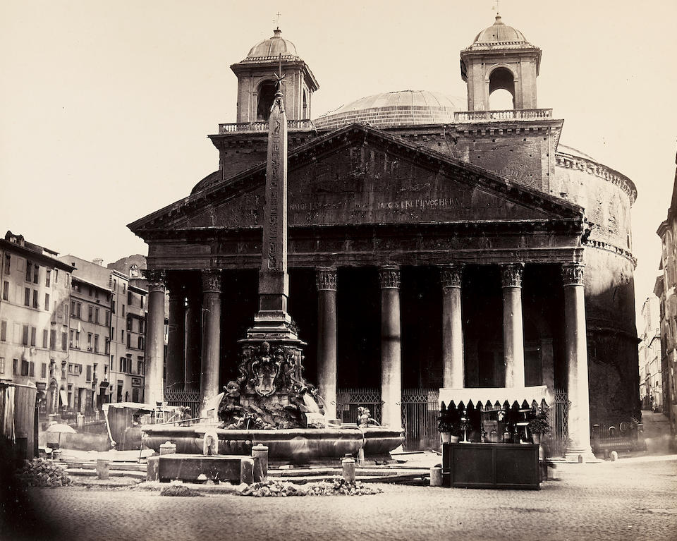 Robert MacPherson (1811-1872); Selected architectural studies of Rome; (10)
