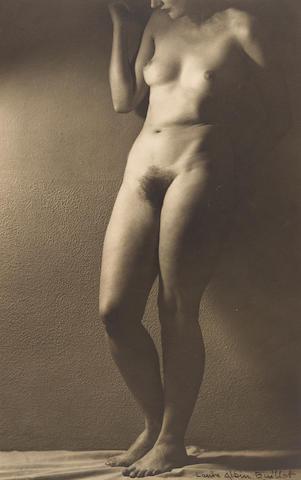 Laure Albin-Guillot (1879-1962); Nu Debout;
